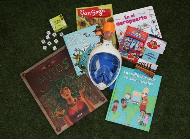 Regalos originales y libros para niños viajeros