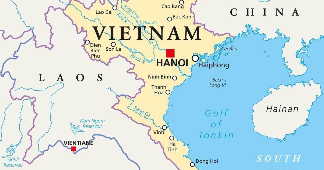 circuit vietnam d tail carte du vietnam. Black Bedroom Furniture Sets. Home Design Ideas