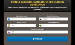 Update Free Mobile Legends Hack Cheat Diamonds APK Mod