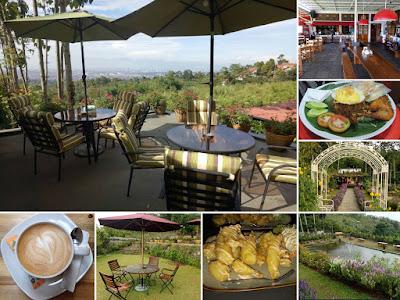 Cafe Nopi di Kebon Jatihandap Cimenyan Bandung
