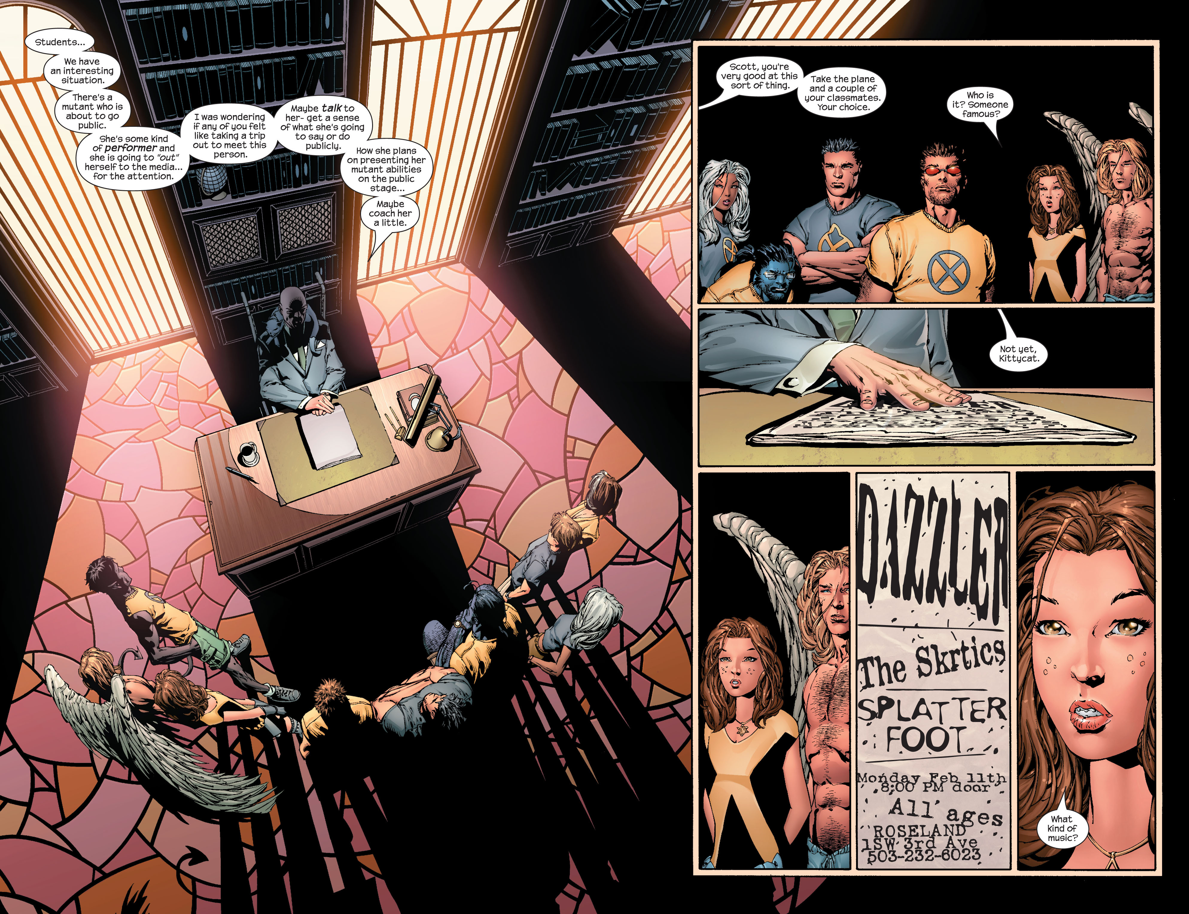 Read online Ultimate X-Men comic -  Issue #42 - 7