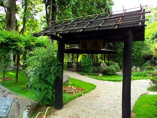 Entrada do Jardim Japonês, no Jardim Botânico do Rio de Janeiro