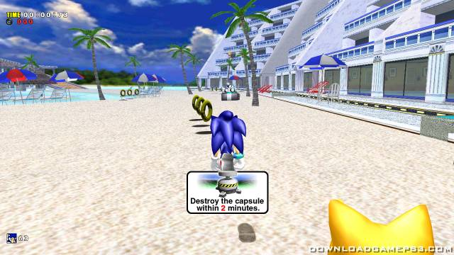 Sonic Adventure DX Directors Cut PSN - Download game PS3 PS4