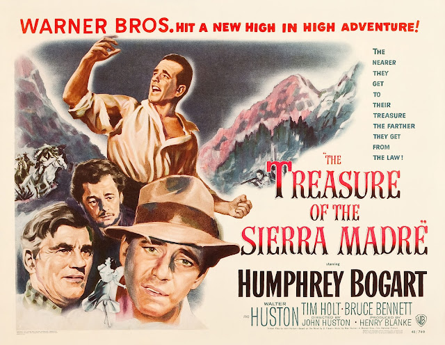 Tonton Film Lama : The Treasure of the Sierra Madre (1948)