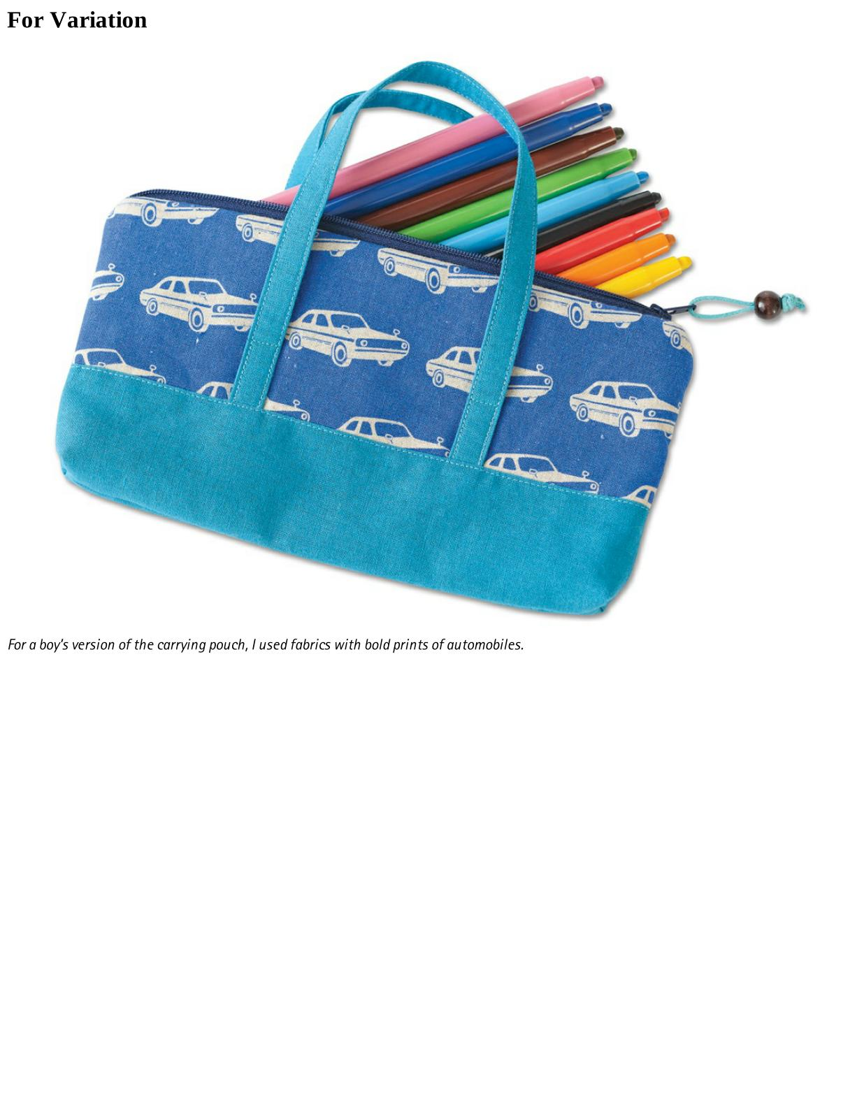 Children's Pencil Bag