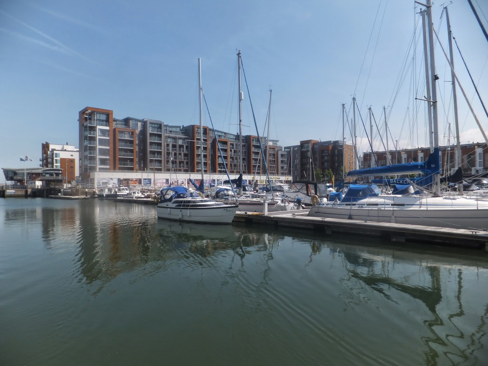 and Millie makes three: Portishead Marina (Gloucester and ...