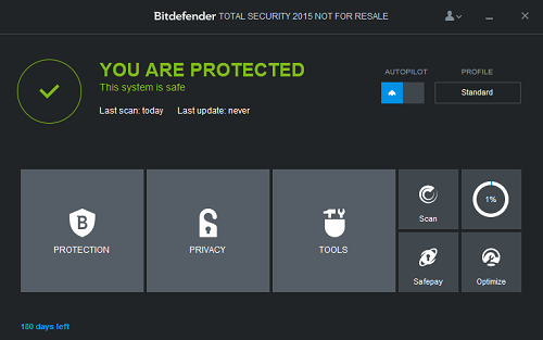 Bitdefender Total Security 2015 License Key