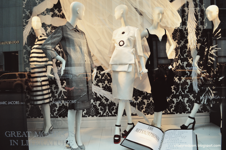 Bergdorf Goodman  Window Display