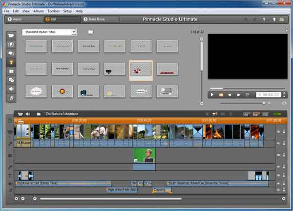 Software edit video terbaik yang bisa dicoba - Pinnacle Studio
