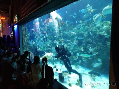 Bagaimana dapatkan diskaun ke Aquaria KLCC
