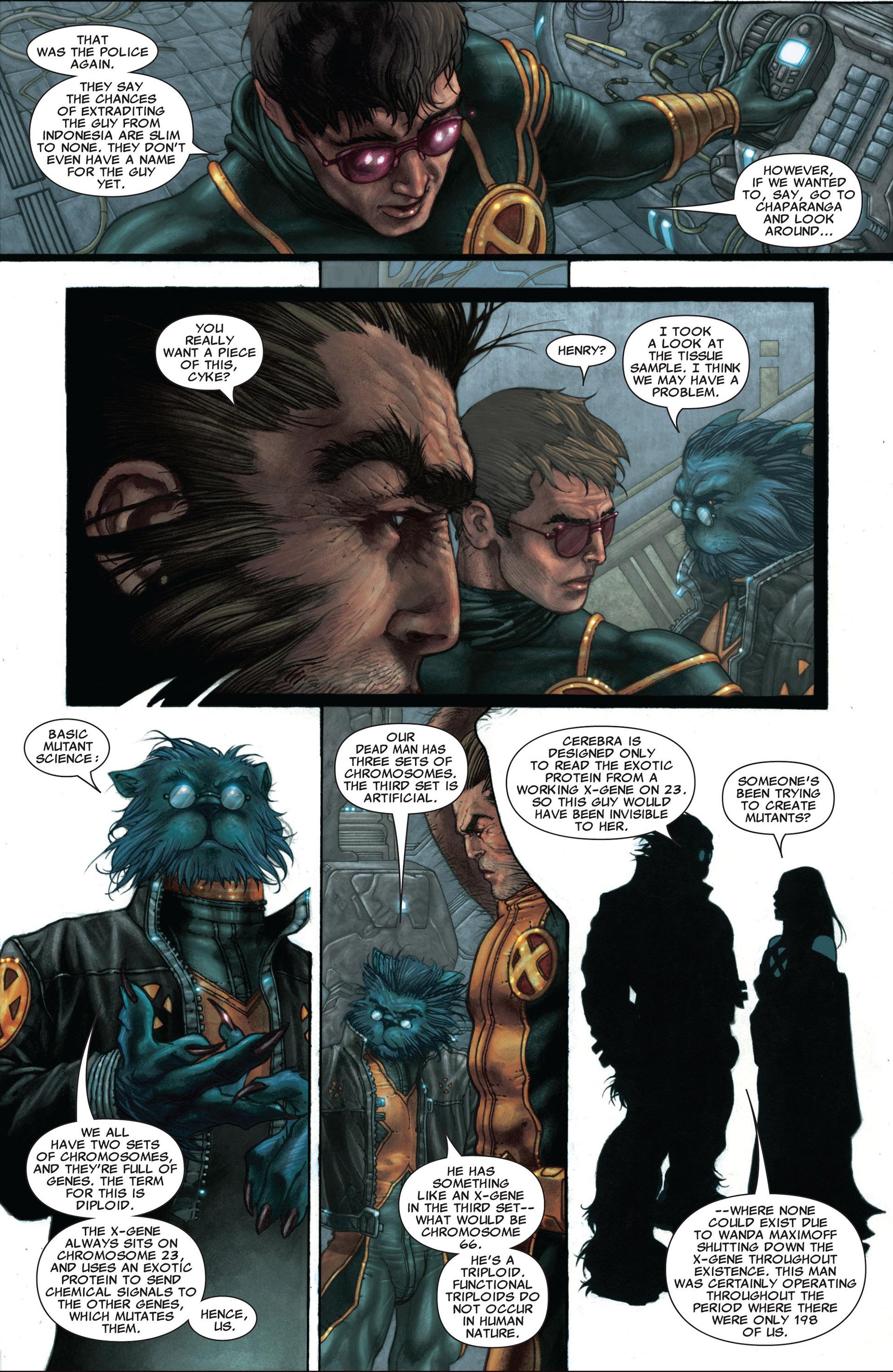 Read online Astonishing X-Men (2004) comic -  Issue #25 - 20