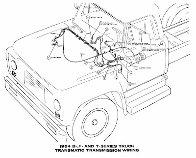 Ford B-, F-, T-Series Trucks 1964 Transmatic Transmission
