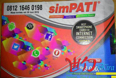 Jenis Kartu Perdana Simpati yang bisa didaftarkan Paket Bundling Internet