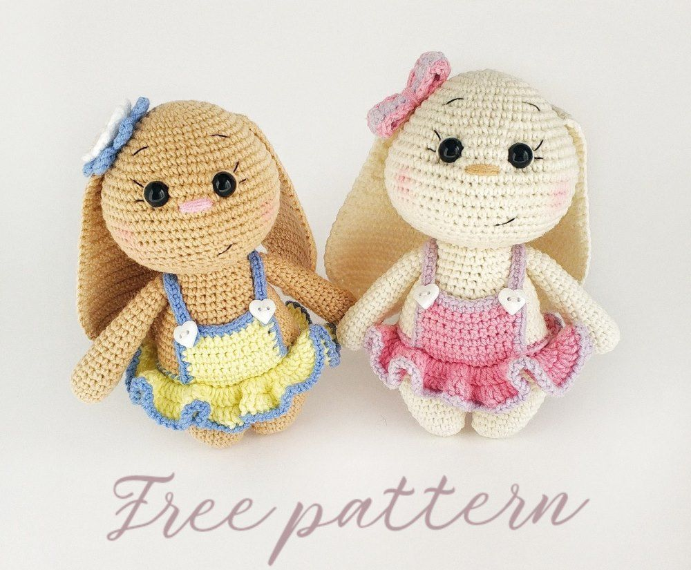 117 Crochet Pattern - Baby Goat and Baby Bull (with clothes ... | 825x1000