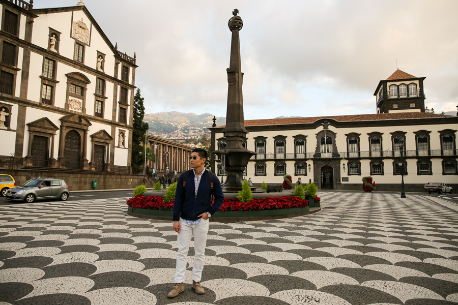 Levitate Style, Levitate Travel, Madeira, Portugal, menswear, travel look, Leo Chan, Alicia Mara
