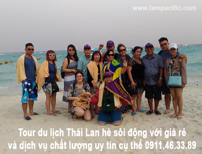 Tour du lịch Thái Lan hè sôi động với giá rẻ và dịch vụ chất lượng uy tín cụ thể