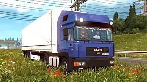 MAN F2000 truck mod
