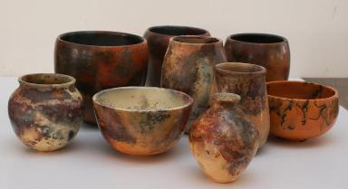 Primeras vasijas de cerámica