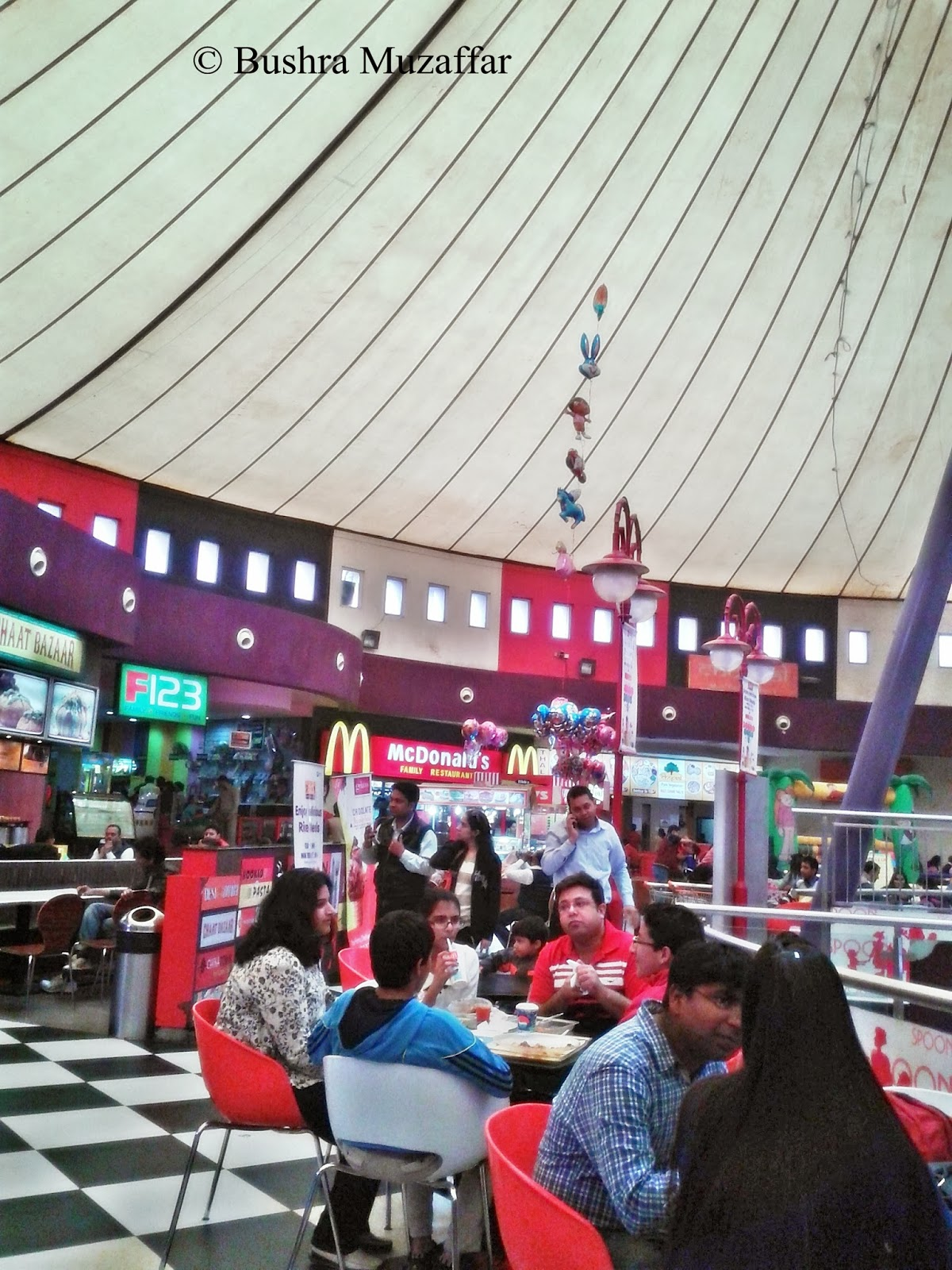 Food Court at TGIP Noida