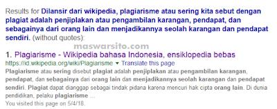 cara mengecek artikel copy paste atau bukan