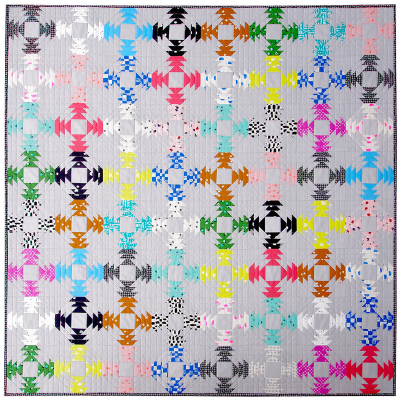 Pineapple Quilt - foundation paper piecing pattern available.
