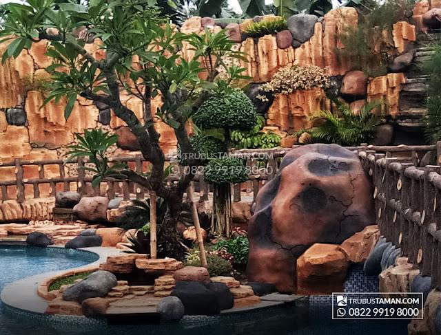 Tukang Taman Bintaro - jasa pembuatan Taman dan kolam hias.