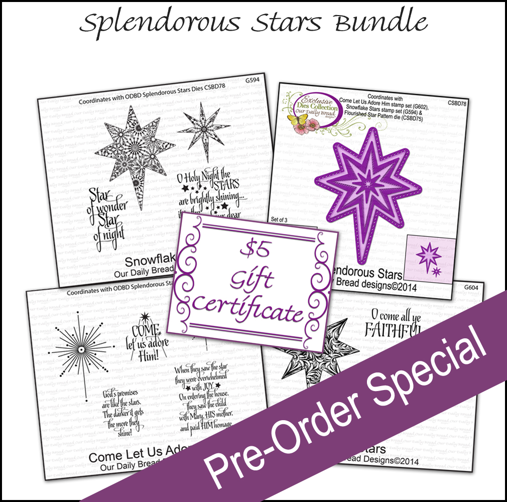 ODBD Splendorous Stars Bundle November Pre-Order
