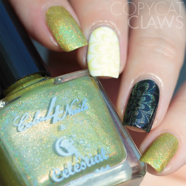 Color4Nails + Celestial Cosmetics Holographic Stamping Polish - Zinnia