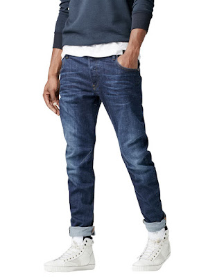 G-Star Herren Jeans Arc 3D Slim Fit - Blau - Dark Aged