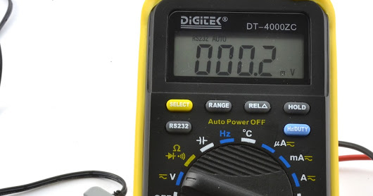Logging Multimeter Readings with a Digitek DT-4000ZC on a Mac