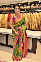 Raashi Khanna in colorful Saree looks stunning at inauguration of South India Shopping Mall at Madinaguda ~  Exclusive Celebrities Galleries 013.jpg