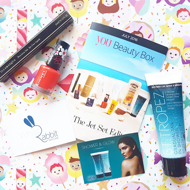 July's You Beauty Box with Illamasqua & Rimmel London | Unboxing & Review