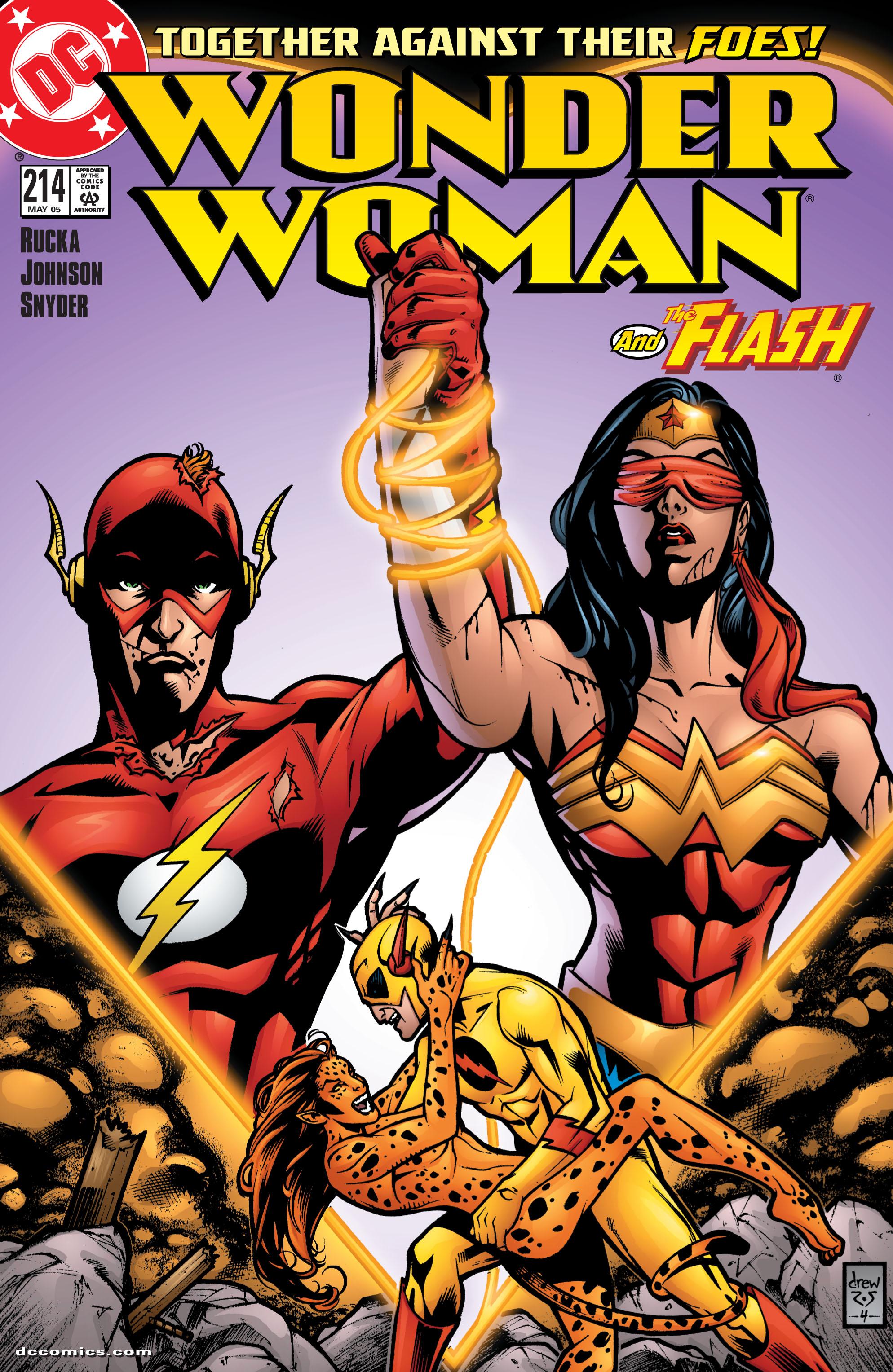 Read online Wonder Woman (1987) comic -  Issue #214 - 1