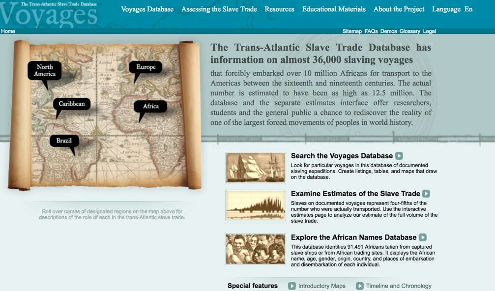 an analysis of the european role in the trans atlantic slave trade