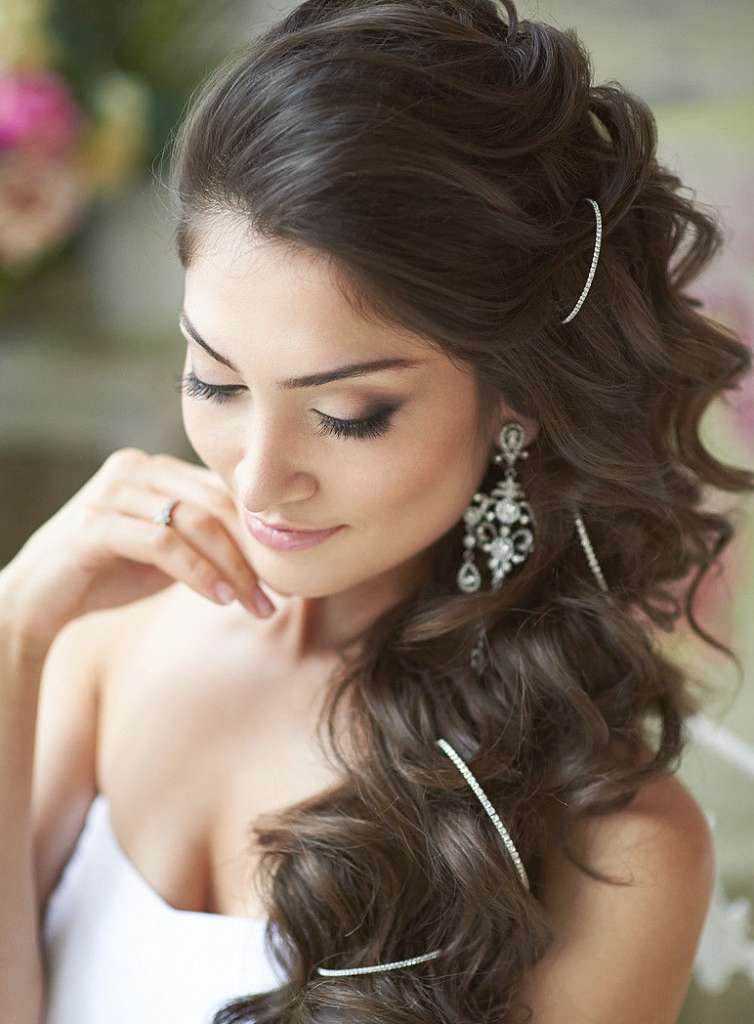 10 Best Wedding Hairstyles For Long Hair   Just for Fun