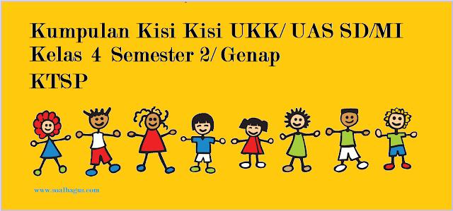 download kisi kisi ukk kls 4 mapel pai, pkn, b indonesia, matematika, ips, ipa, b sunda semester 2 genap terbaru gratis soalbagus.com