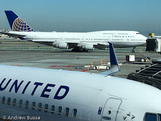 United Airlines 747-400 Friendship Farewell Flight SFO