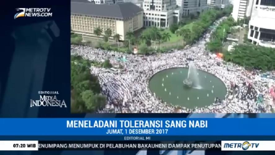 MetroTV sebut perayaan intoleransi