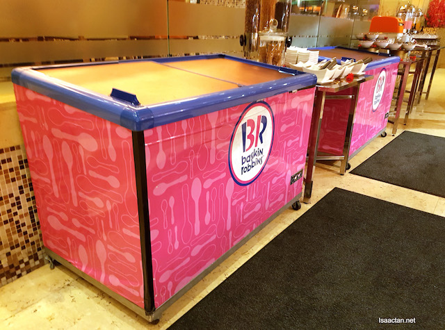 Jumping the gun, straight for my Baskin Robbins Ice Cream