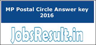MP Postal Circle Answer key 2016