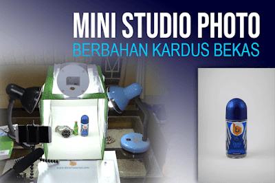 Trik membuat foto yang bagus dengan Photo Studio mini