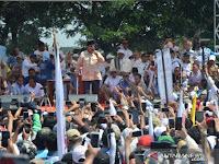 Ribuan Pendukung Prabowo Ikuti Kampanye Terbuka di Karawang
