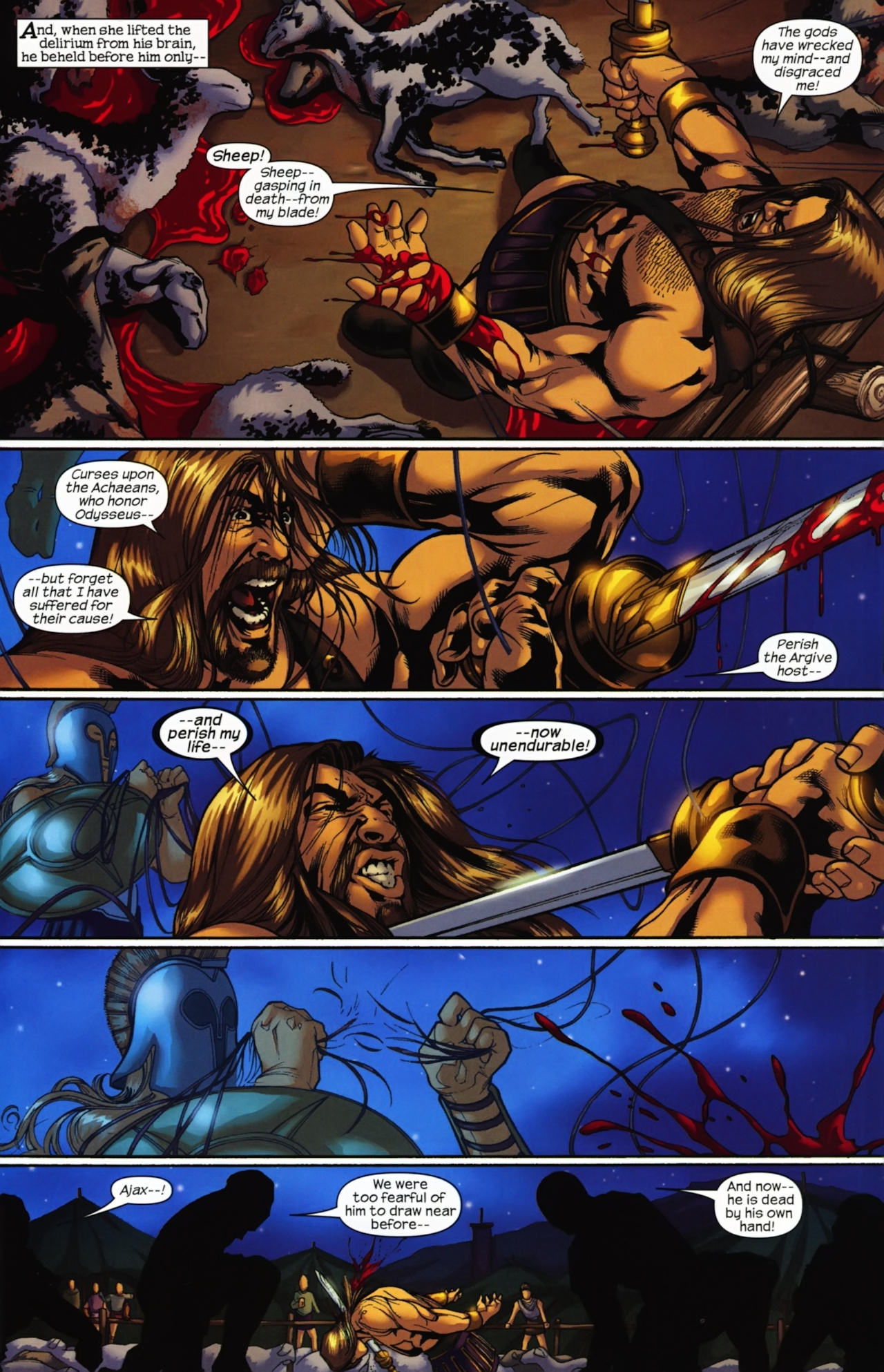 Read online Trojan War comic -  Issue #4 - 9