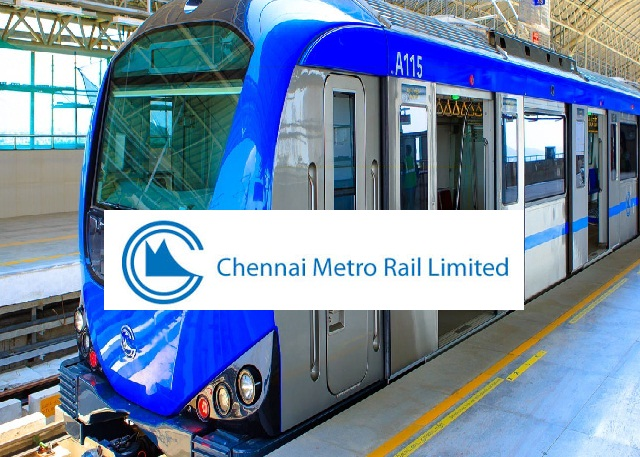 CMRL-Chennai Metro Rail Walk-in Drive Engineer Posts - Apply Now