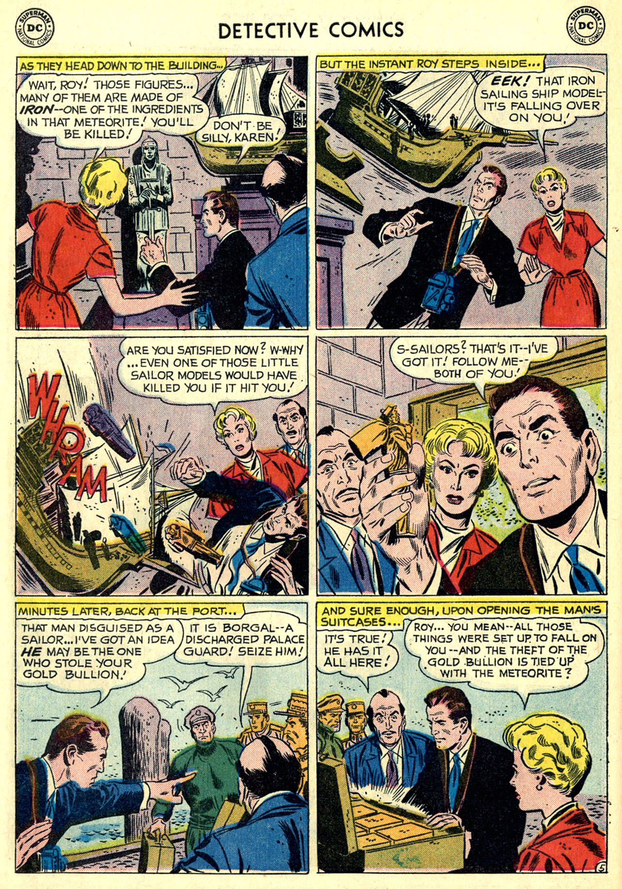 Read online Detective Comics (1937) comic -  Issue #269 - 22