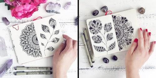 00-Ksenya-Gromova-Ink-Mandala-and-Flower-Drawings-www-designstack-co