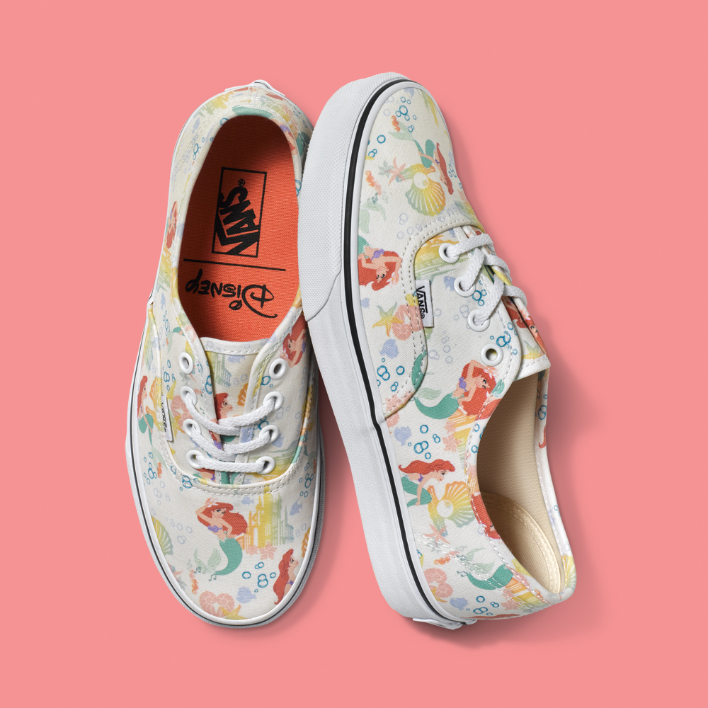 8d91dcb27fce Ariel has a starring role in new Disney collection from Vans ...