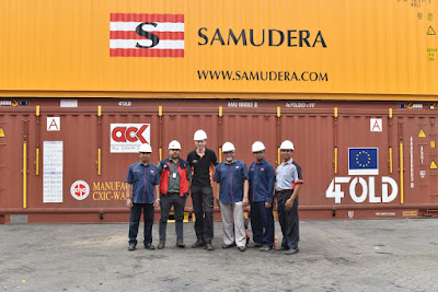 Lowongan Kerja Jobs : Secretary to Board of Directors, IT Staff, Container Surveyor, Operator Empty Container Handler Min SMA SMK D3 S1 PT Samudra Sarana Logistik