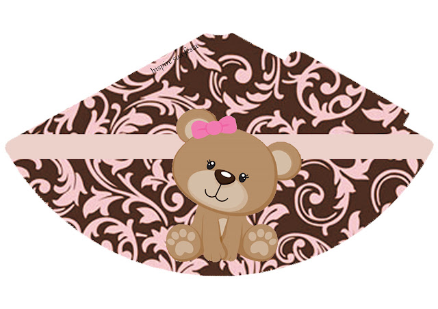 Sweet 16  Cute Bear Free Printable Hat.