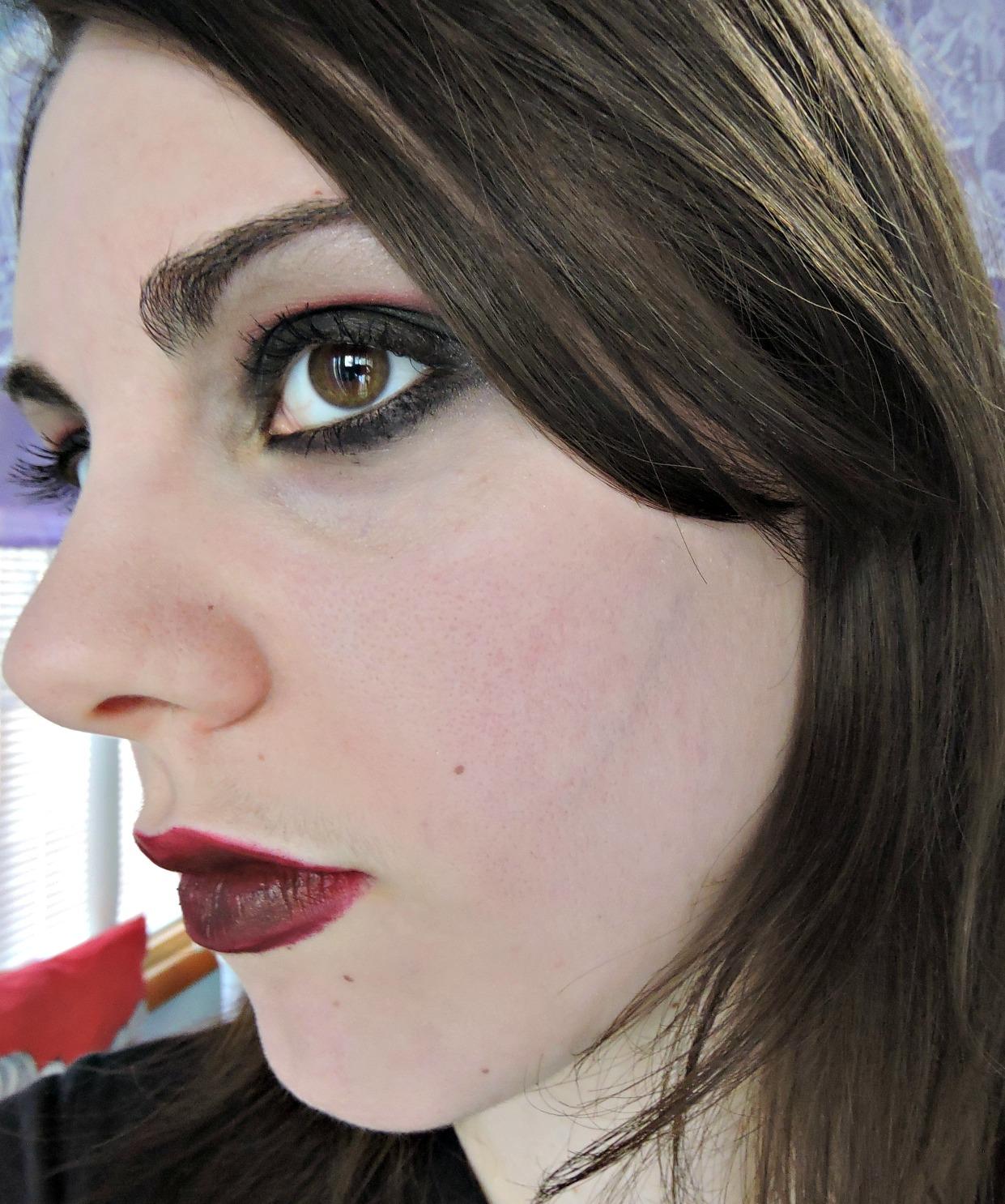 Ultima Beauty Civil War Winter Soldier Inspired Makeup